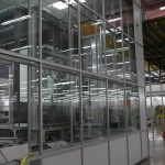 South Coater Glass Walls
