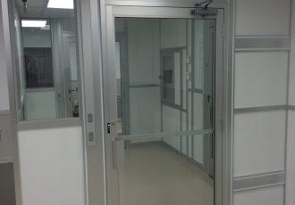 Door with Interlock
